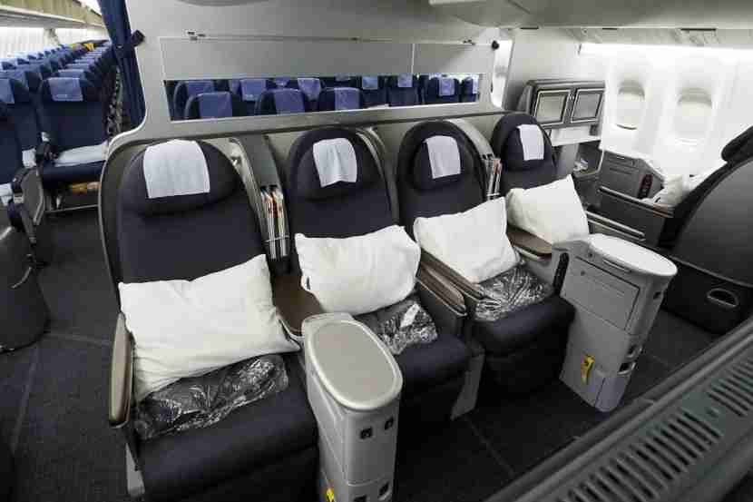 Book early to avoid ending up in a middle seat in business class!