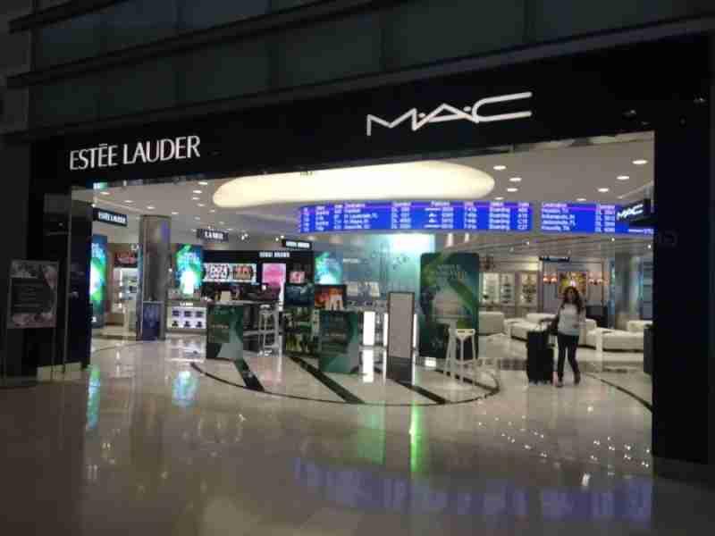 A beauty boutique inside DTW