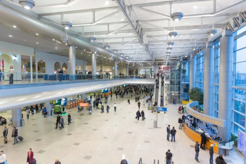 Modern. Clean. Russian. Inside Domodedovo Airport. Photo courtesy of Shutterstock.