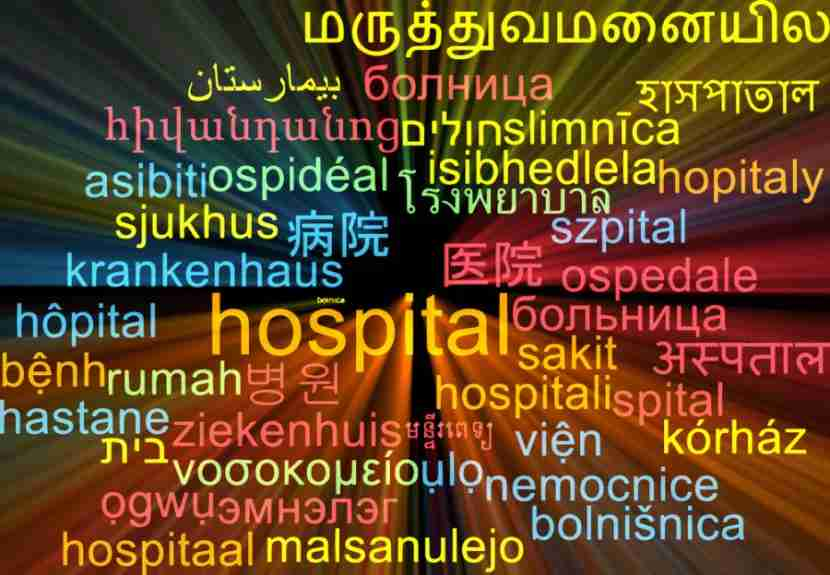 "Photo courtesy of <a href=""http://www.shutterstock.com/pic-278653283/stock-photo-background-concept-wordcloud-multilanguage-international-many-language-illustration-of-hospital.html?src=6CPASQ7Wo0GazoKS1MTfRw-1-3"">Shutterstock</a>"