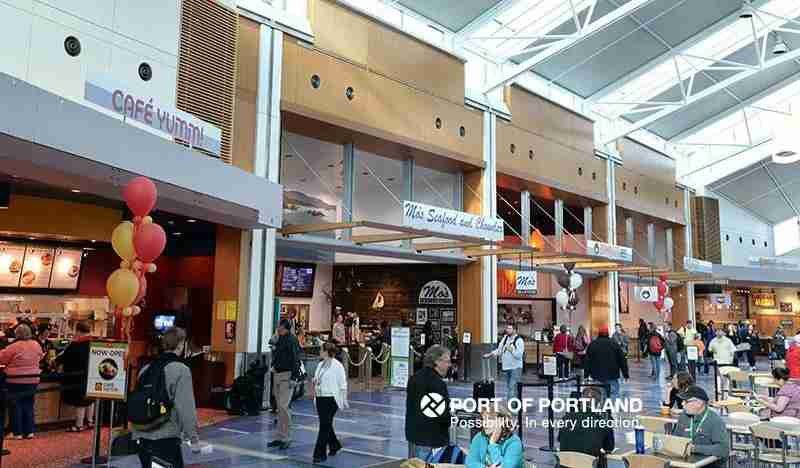 Photo courtesy ofPortland International Airport on Facebook