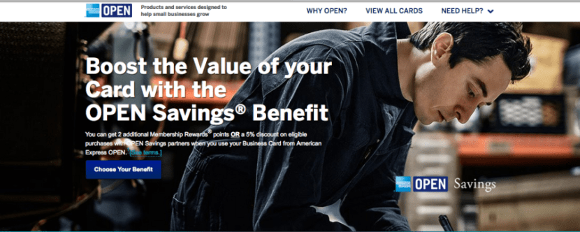 Amex's OPEN Savings program is the most sophisticated of the bunch.