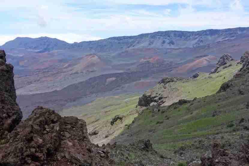 The Haleakala Crater
