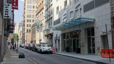 Hotel Review Aloft Manhattan Downtown Financial District