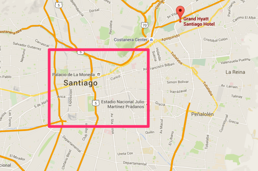 Most of Santiago's interesting activities are a taxi or metro ride away.