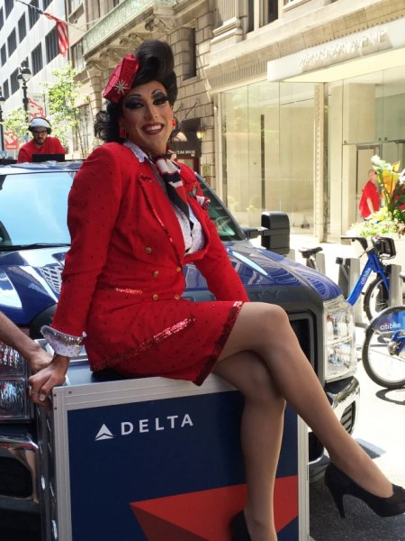 Delta Air Lines is one of New York Pride's biggest sponsors — and just as you  should, particpants wear what makes them feel great.