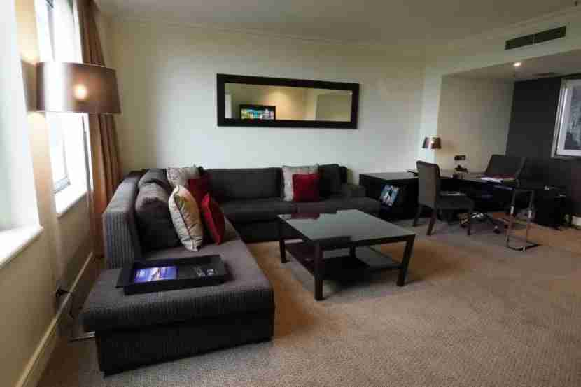 The large living room in our Executive Suite.