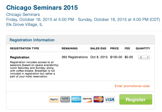 Chicago Seminars