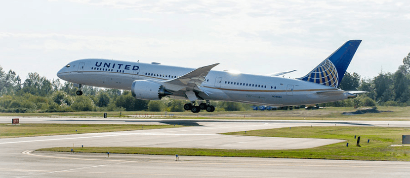United 787 featured