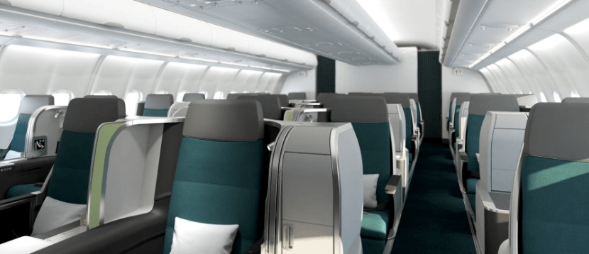 Aer Lingus has a solid new business class, and you can earn and redeem United miles for these flights.
