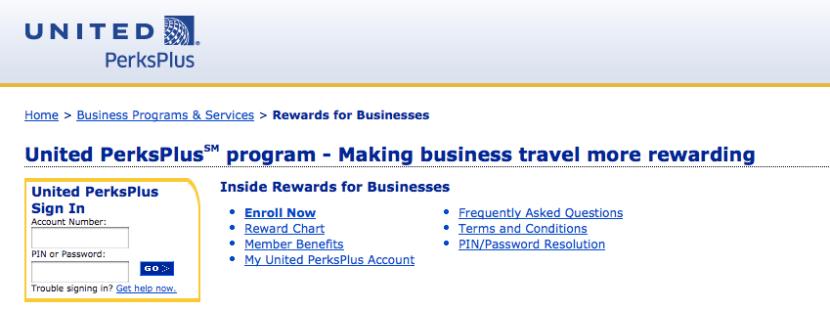United's PerksPlus program is revenue-based.