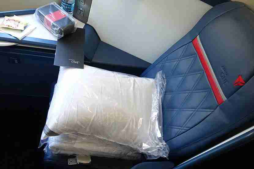 My Delta One business seat.