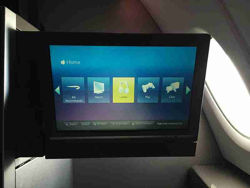 A 10-inch touchscreen TV monitor can be released at the touch of a button.