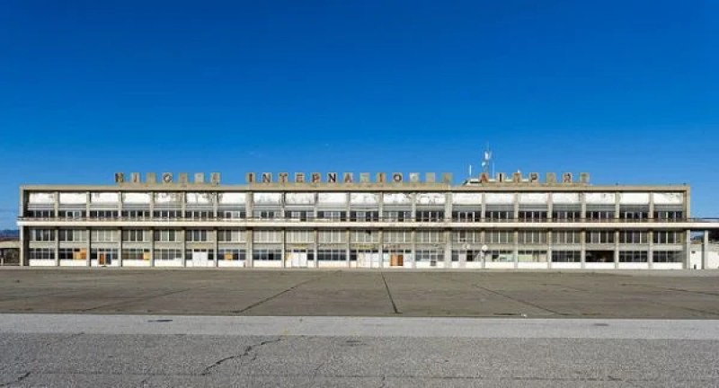 Nicosia's airport has stood empty since 1974.