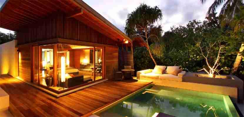 Park Pool Villa at the Park Hyatt Maldives Hadahaa.