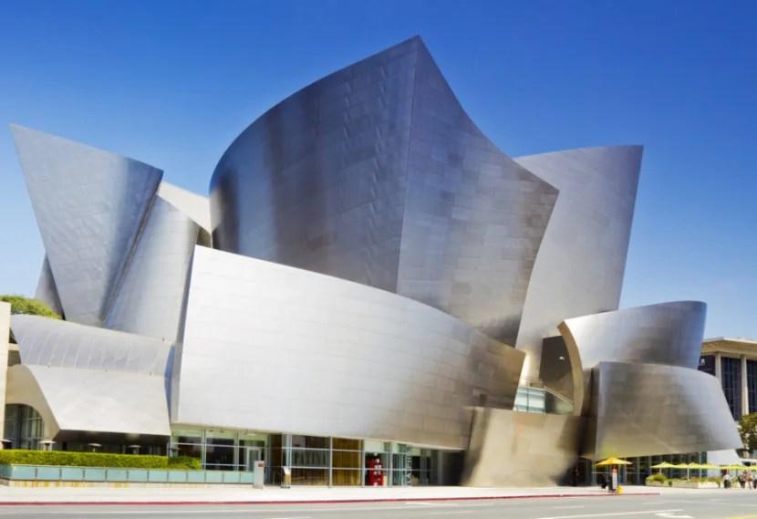 Walt Disney Concert Hall in Downtown LA. Photo courtesy of Shutterstock.
