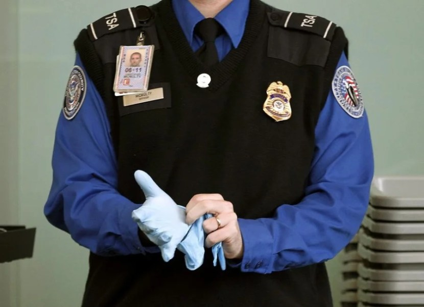 To become an employable TSO officer, you have to dig into hundreds of pages' worth of rules. Photo courtesy of TSA.