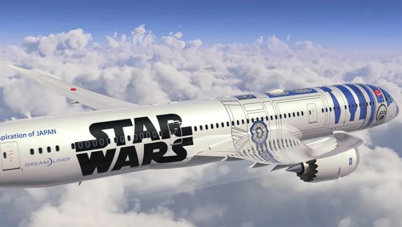 ANA's Star Wars-themed 787.
