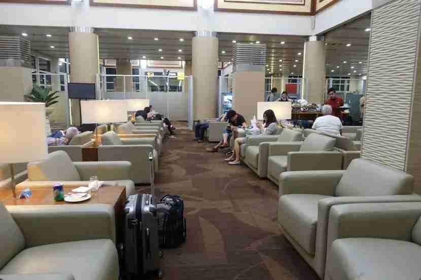 Garuda lounge seating.