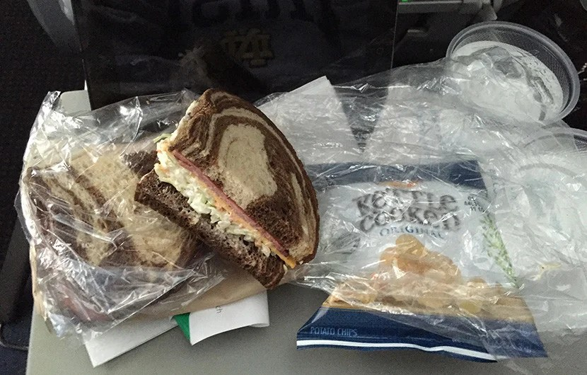 Despite costing $10, my pastrami sandwich was bland, dry and just overall disappointing.