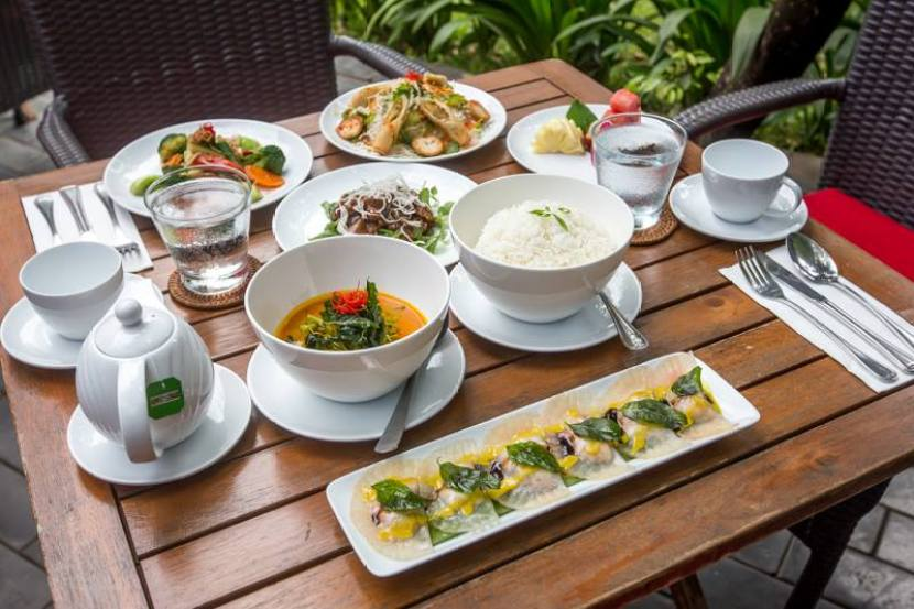 A meal of Cambodian delights at Marum. Photo courtesy of the Marum Facebook page.