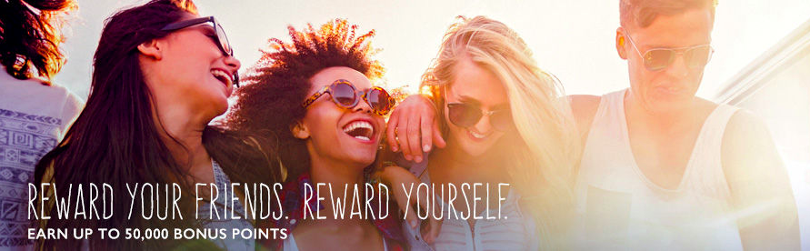 Marriott's Refer-a-friend program can be lucrative easy points.
