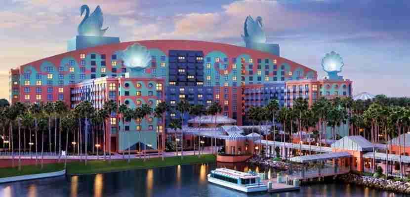Photo courtesy of the Walt Disney World Swan