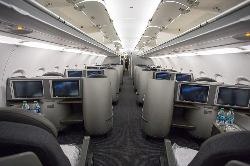 Touring American S A321t First Business And Economy
