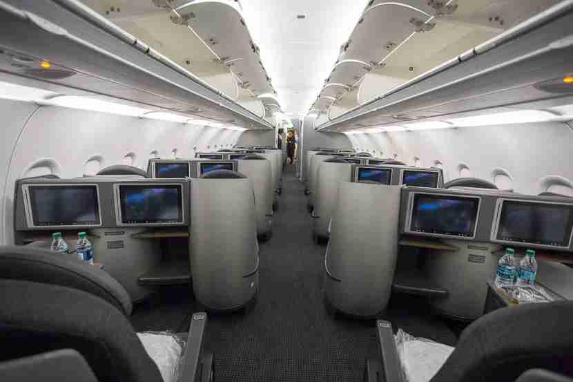 American A321T Three Class Comparison