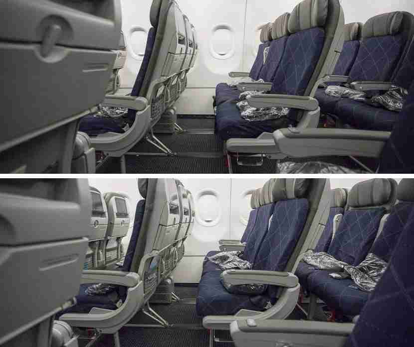 Just about the only difference between Main Cabin Extra and the regular Main Cabin is legroom — but that