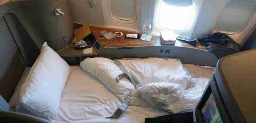 Cathay Pacific First Class Featured