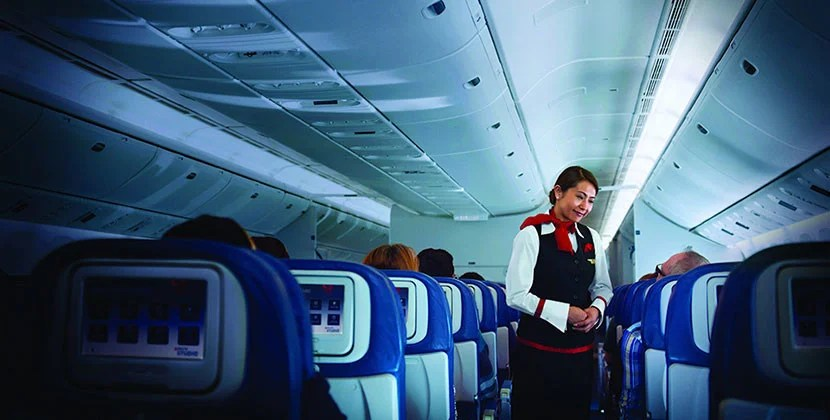 It could be worth saving the miles to ride in Delta economy vs. business. Image courtesy of Delta.