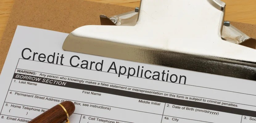 You use your personal credit history to apply for either type of card.
