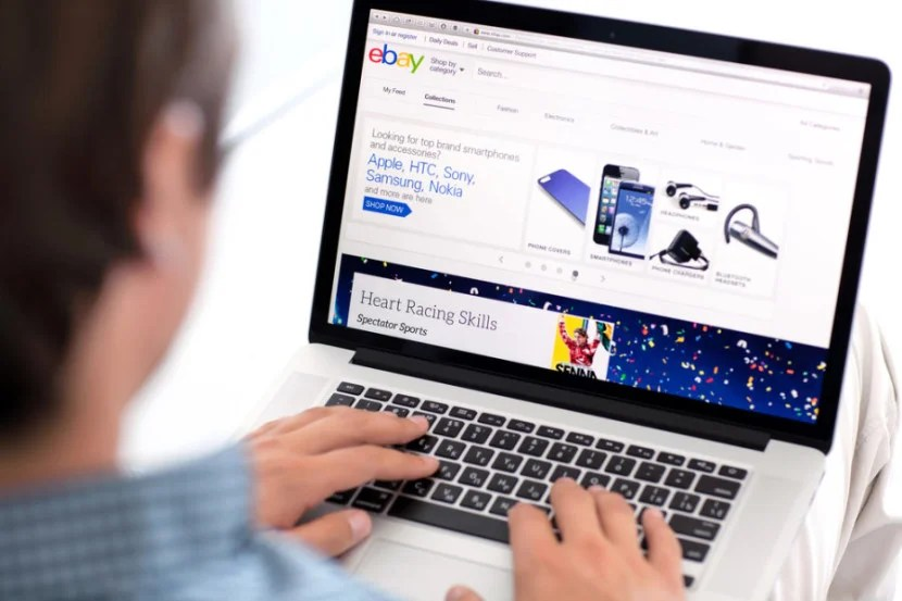 Earn points and miles for shopping eBay through portals. Photo courtesy of Shutterstock.