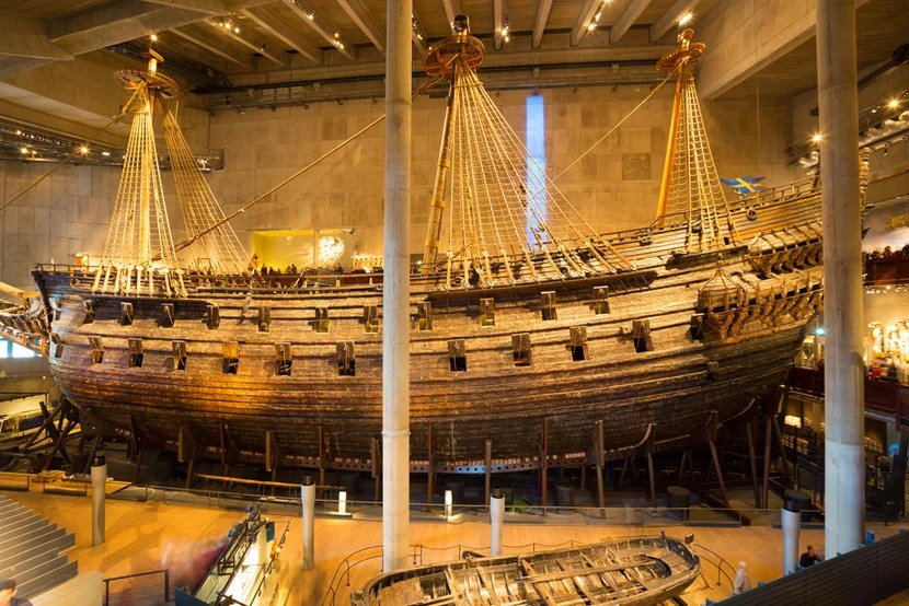 Sail back into the Viking era at Stockholm