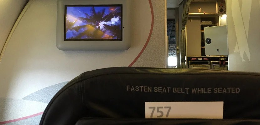 Flight Review: American 757 First Class — LAX to Maui