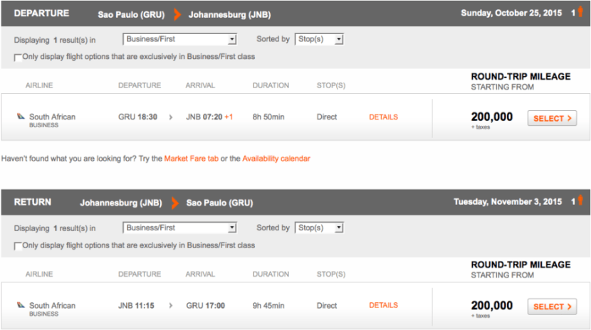 Aerplan JNB GRU new dates.