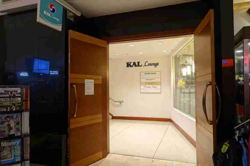 Premium passengers get free KAL Lounge access.