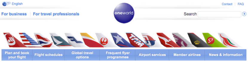 Both airlines are members of Oneworld.