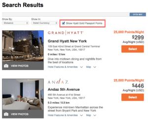 Hyatt results NYC