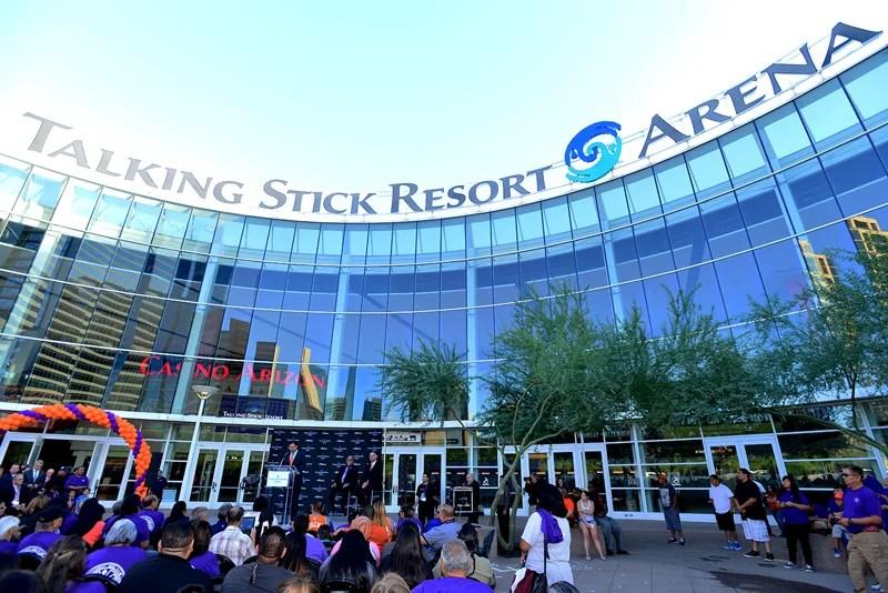 Talking Stick Resort Arena in Phoenix, Arizona