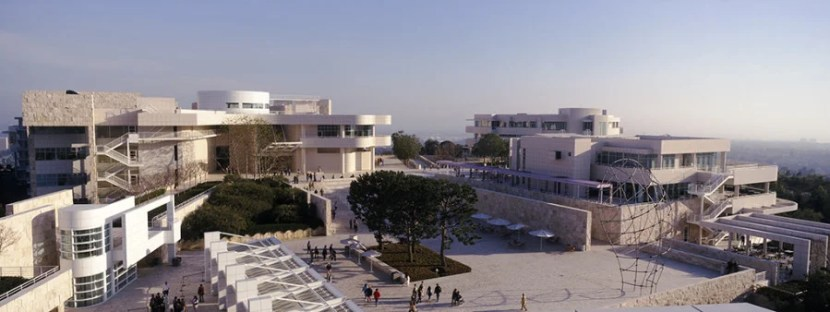 Visit the Getty Center not just for the art on display but also the gorgeous gardens. Photo courtesy of: Getty Center.