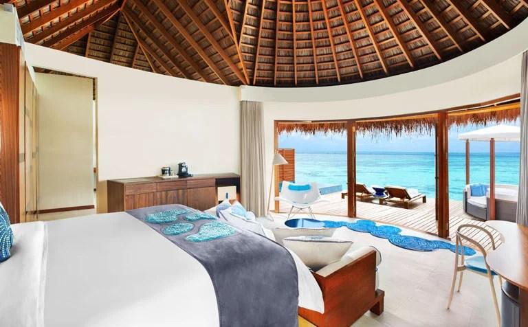The W Retreat & Spa, Fesdu Island, Maldives.