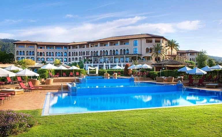 The St. Regis Mardavall Mallorca Resort, Mallorca, Spain.