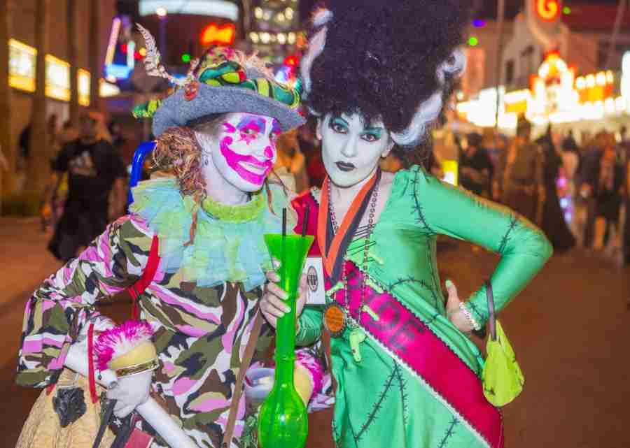Find your inner character at the Las vegas Halloween Parade. Photo courtesy of Shutterstock.
