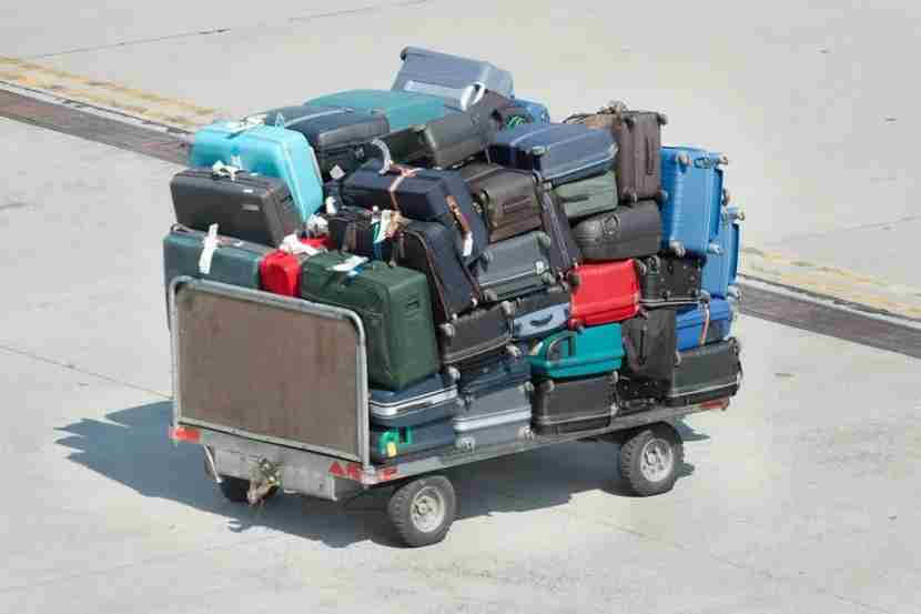 If there was ever a good time to check your luggage, this is that time. Photo courtesy of Shutterstock.