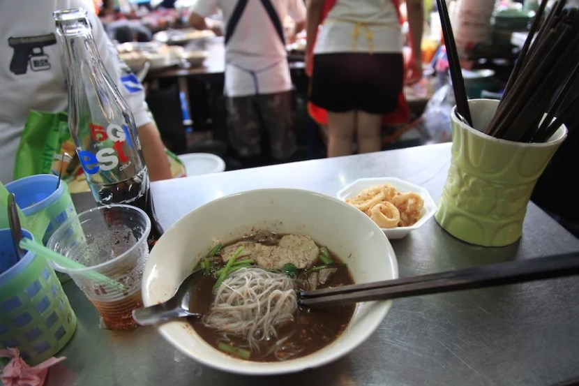 Boat noodles are among the best local staples and should not be missed.