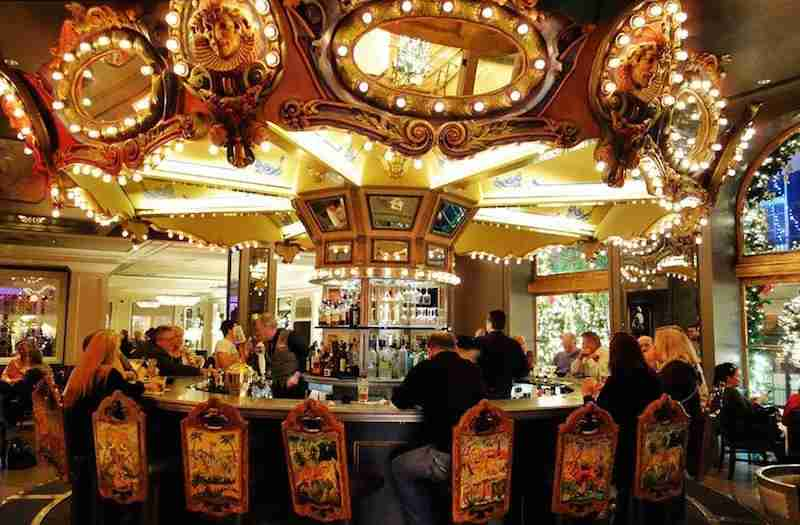 Warning: This bar will spin you round and round. Photo courtesy of hotel.