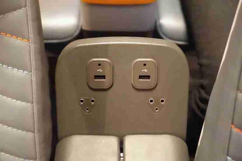 Premium economy USB ports.
