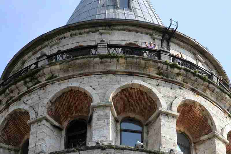 Viewing platform of the Galata Tower